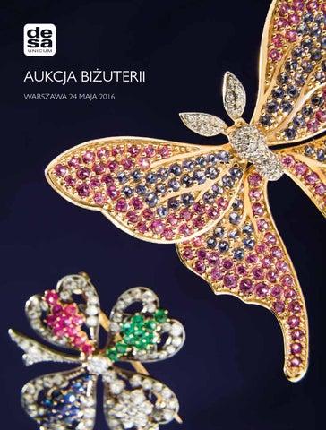 521831d57e911f Aukcja Biżuterii, 24 maja 2016, godz. 19 by Desa Unicum S.A. - issuu