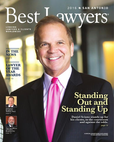 Best Lawyers In Texas 2016 Austin Amp San Antonio Edition