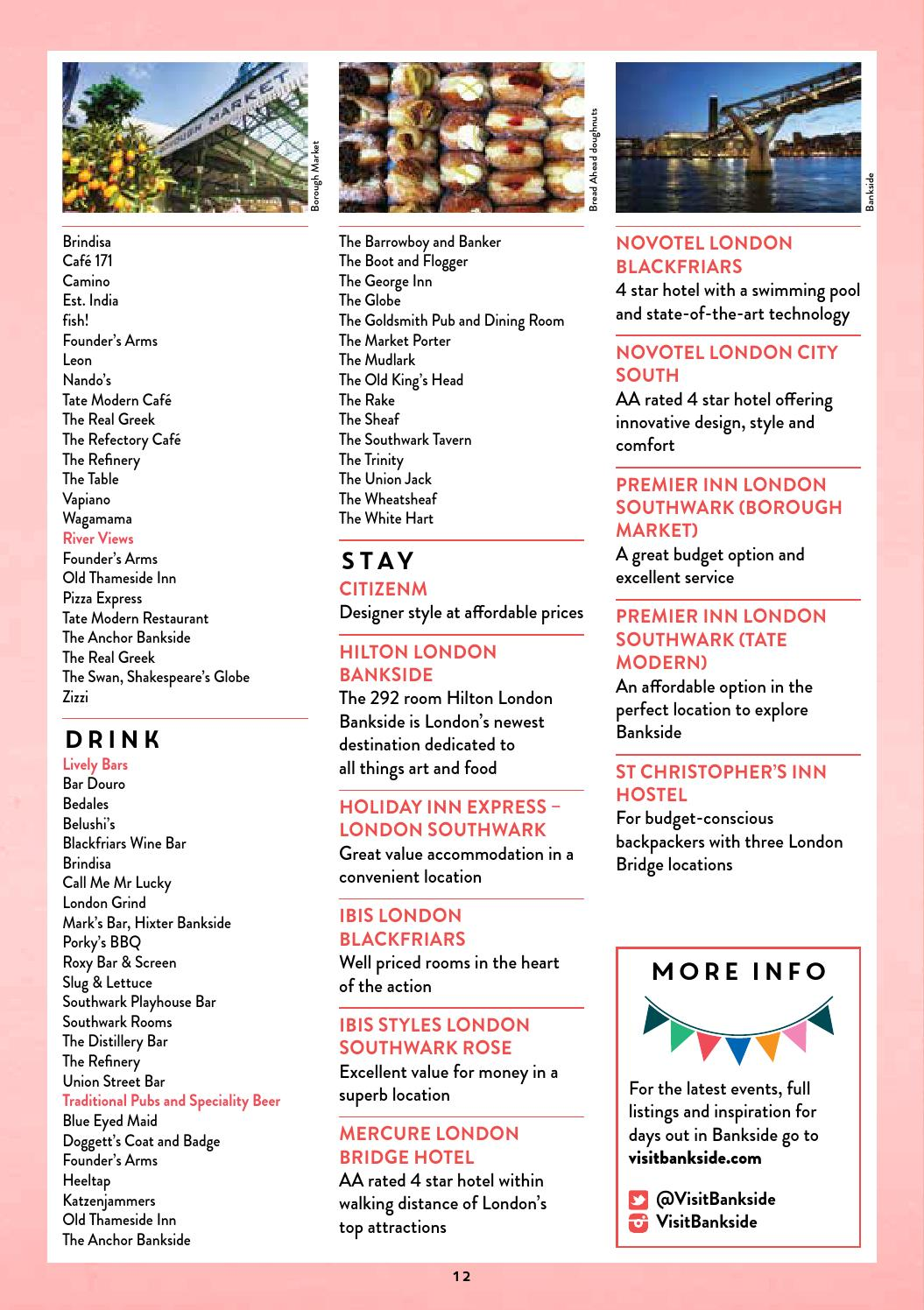 One Big Summer Guide 2016 By South Bank London Issuu