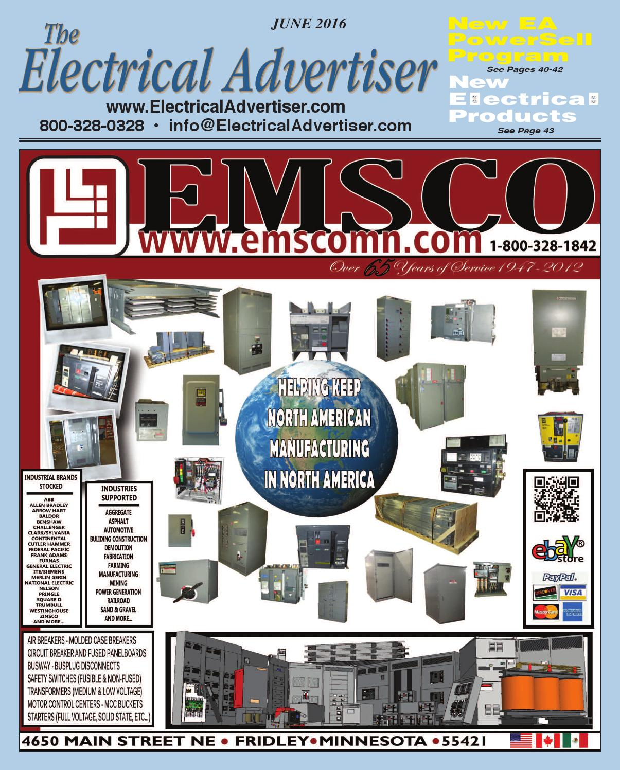 Electrical Advertiser June 2016 By Issuu Replacement Parts Lift Circuit Breakers Time Delay Breaker