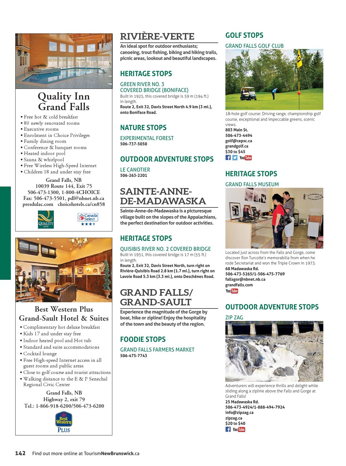 OFFICIAL 2016 NEW BRUNSWICK TRAVEL GUIDE by Official New Brunswick