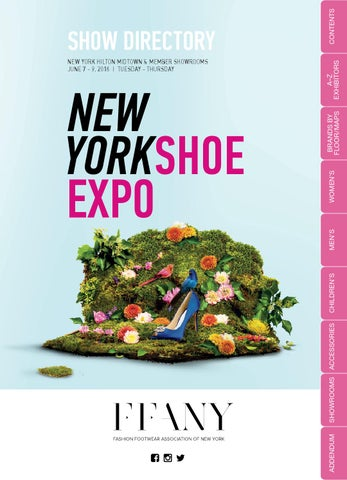 d5a25133088 FFANY New York Shoe Expo Directory - June 7-9 by FFANY  New York ...