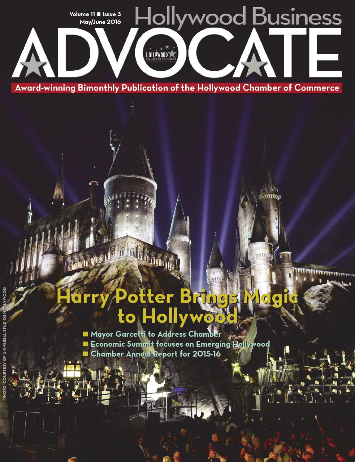 Hollywood Business Advocate May-June 2016 by Hollywood
