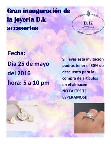Tarjeta De Invitacion By Deimy Karina Casas Nuñes Issuu