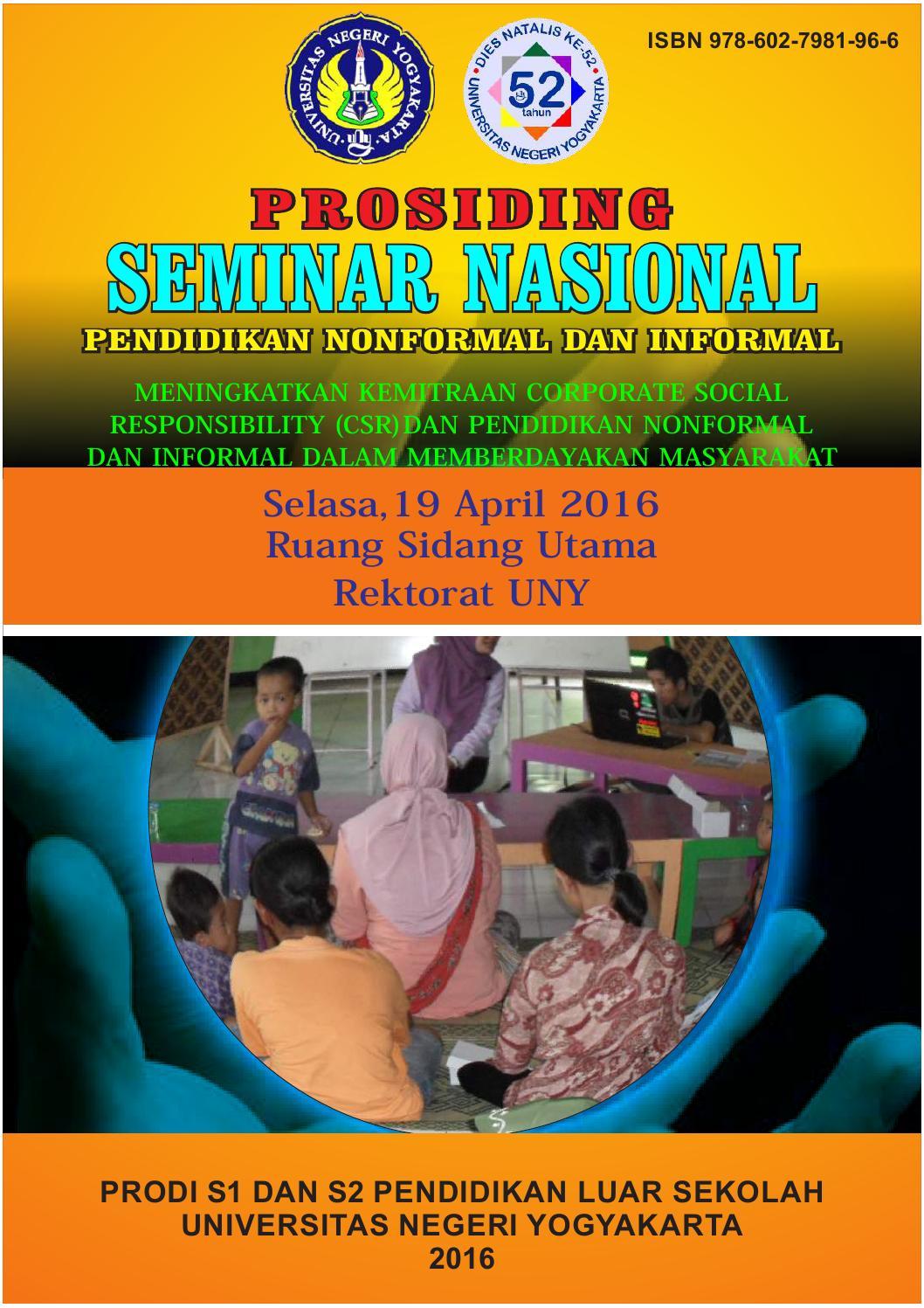 Prosiding Seminar Nasional Pnfi 2016 Univeristas Negeri Yogyakarta Keripik Singkong By Nyamen Pgp Pls Fip Uny Issuu
