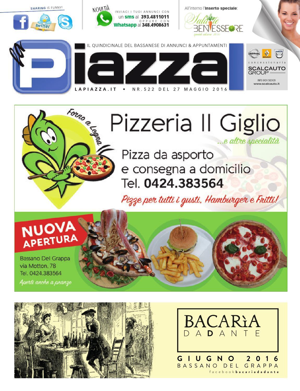 162f6b5821 La Piazza 522 by la Piazza di Cavazzin Daniele - issuu
