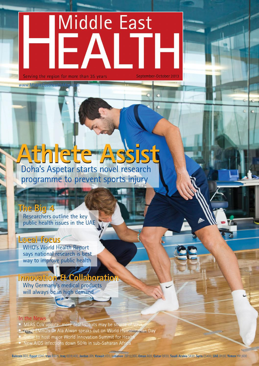 Middle East Health Magazine - Sep/Oct 2013 by Middle East