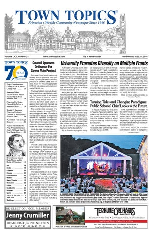 Town Topics Newspaper May 25 2016 By Witherspoon Media Group Issuu