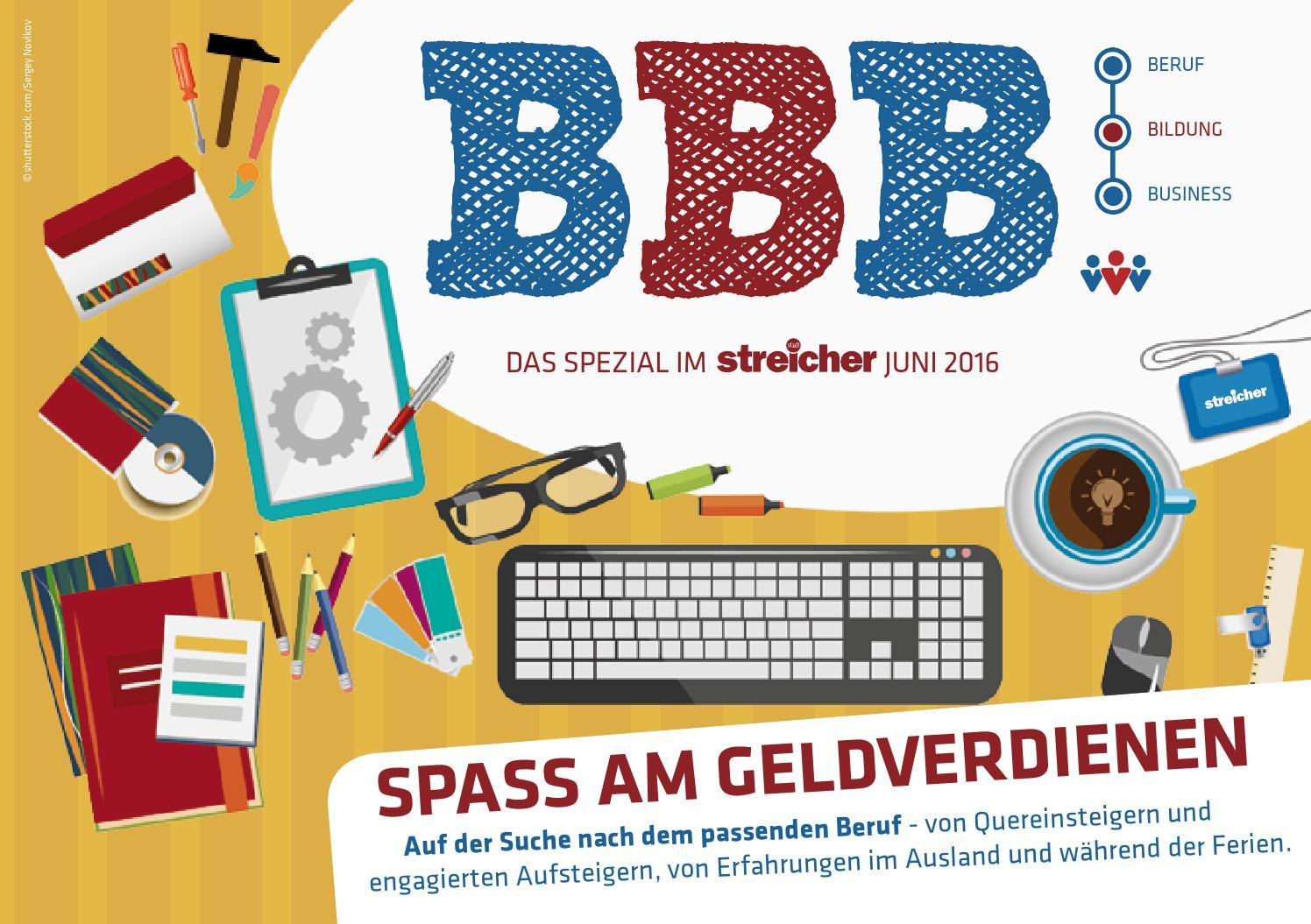Beruf | Bildung | Business SPEZIAL Juni 2016 by Stadtstreicher Stadtmagazin  - issuu