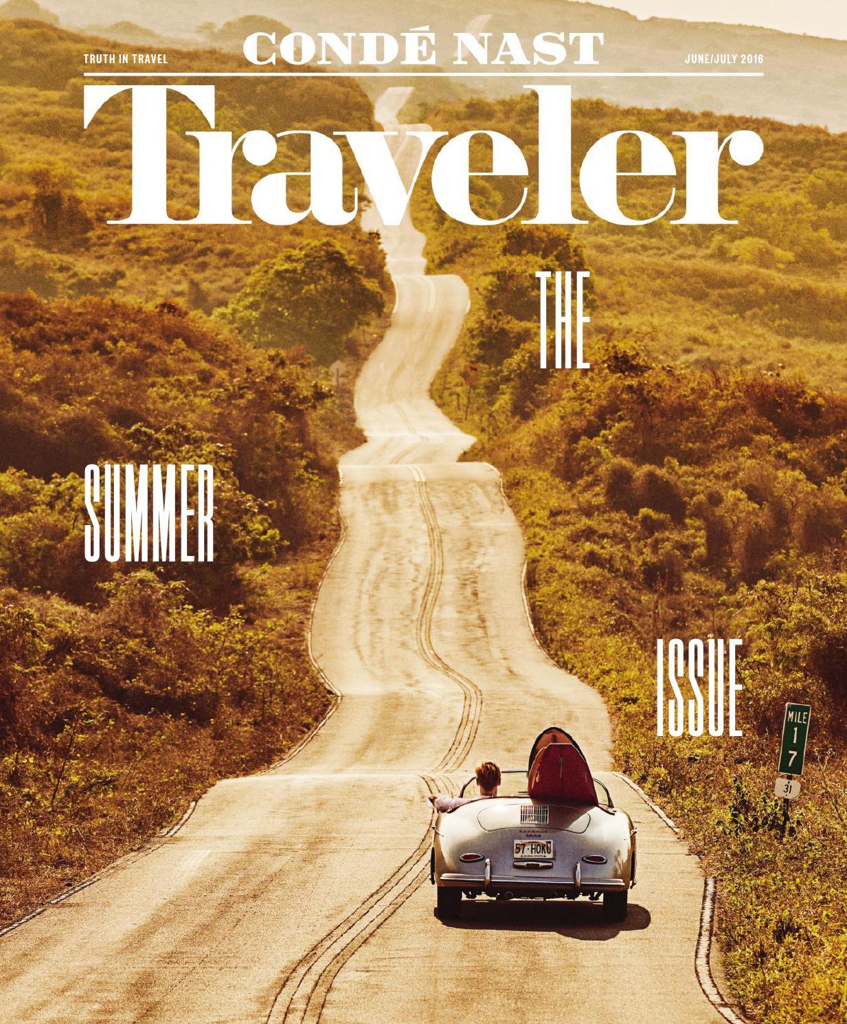 Conde Nast Traveler Usa September 2016 Vk Com Stopthepress By Eun  # Geza Muebles Rosario