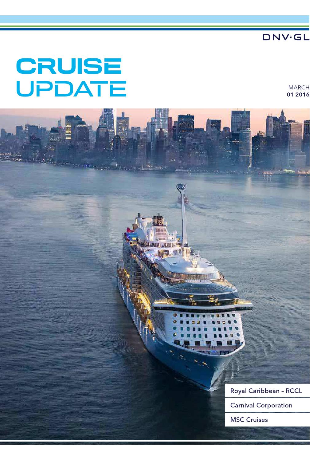 Dnv gl cruise update 1 2016 by dnv gl issuu falaconquin