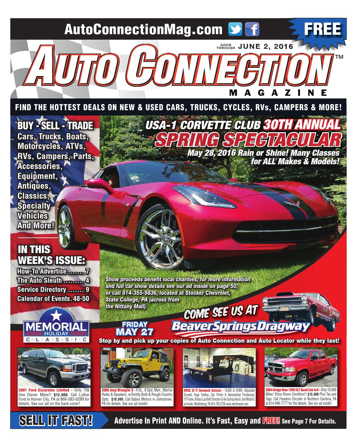 06-02-16 Auto Connection Magazine by Auto Connection Magazine - issuu