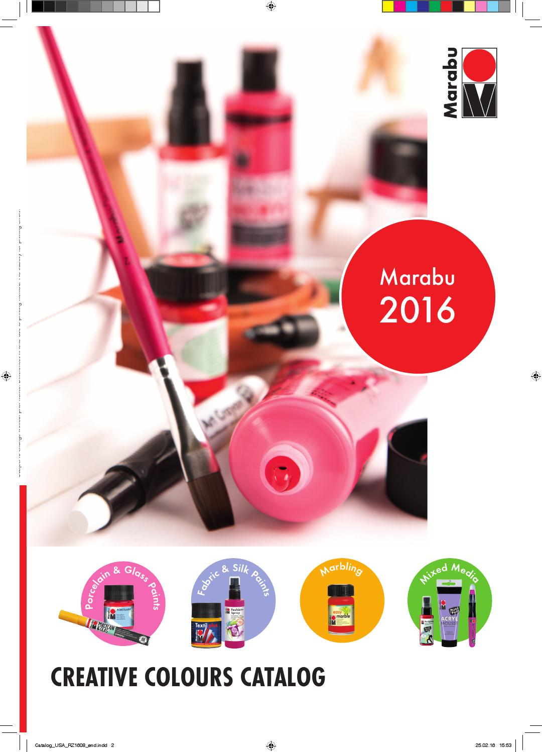 marabu mna catalog 2016 by marabu gmbh co kg issuu. Black Bedroom Furniture Sets. Home Design Ideas