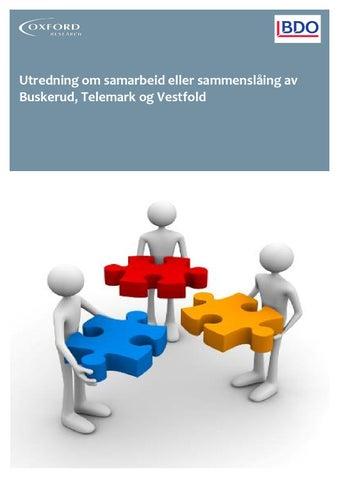 uformell til forpliktende samarbeid tonsberg