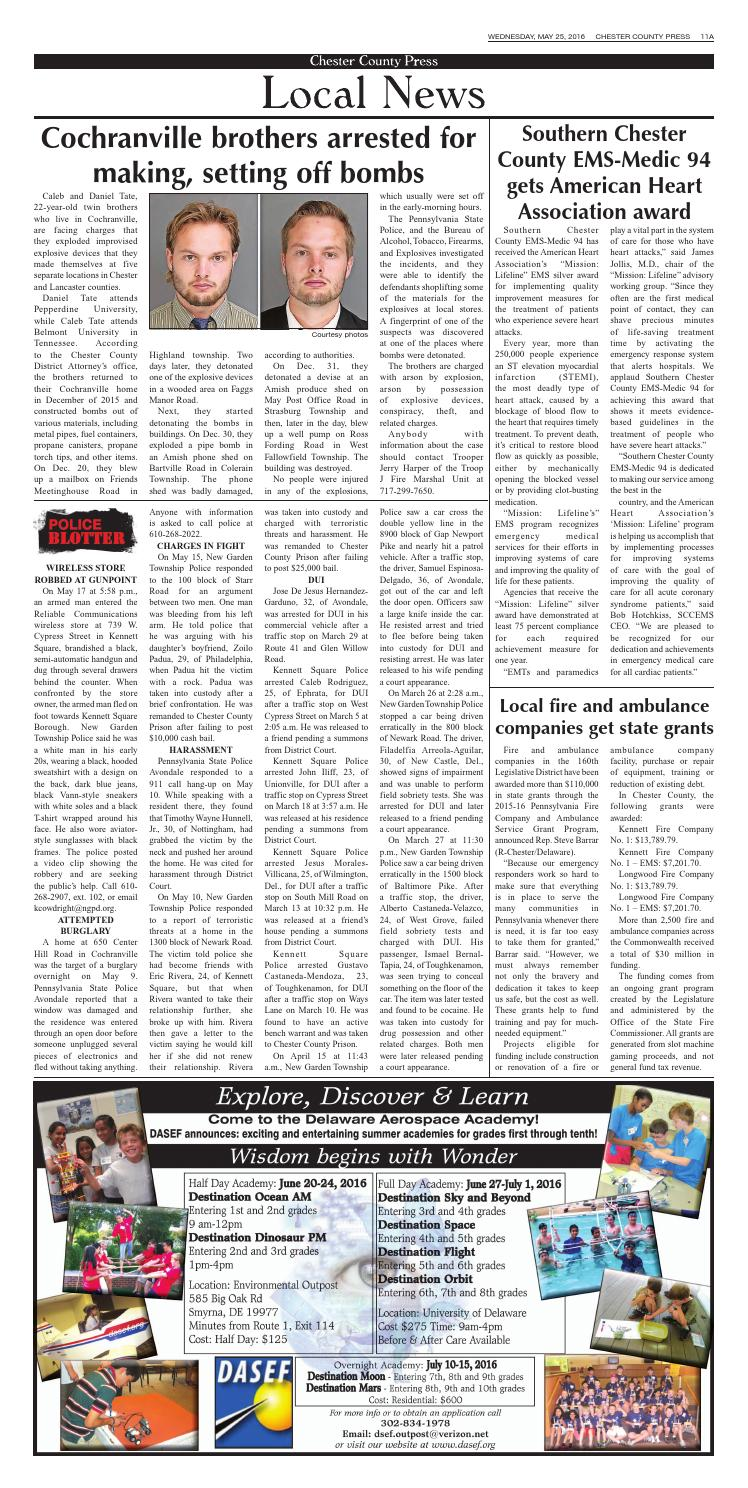 Chester County Press 05-25-2016 Edition by Ad Pro Inc  - issuu