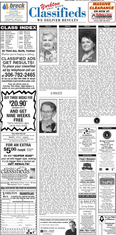 Yorkton This Week Classifieds May 25, 2016 by Yorkton This Week - issuu