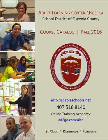 Adult Learning Center Osceola 95
