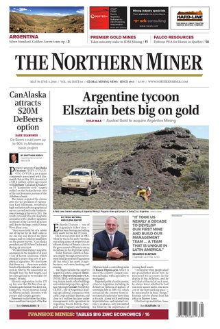 The Northern Miner May 30 2016 Issue by The Northern Miner