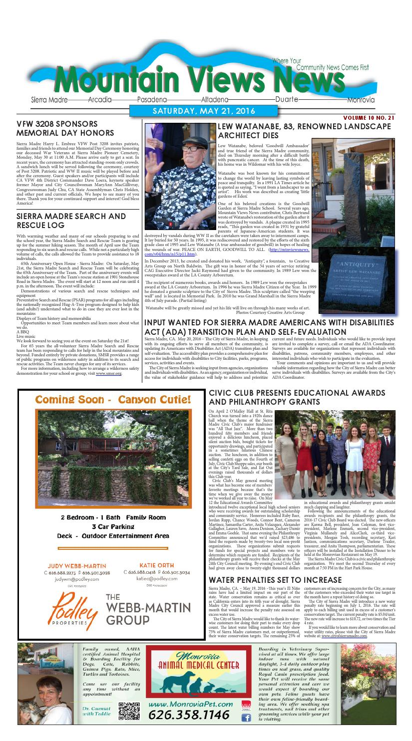 Mvnews 2016 05 21 by Mountain Views News - issuu