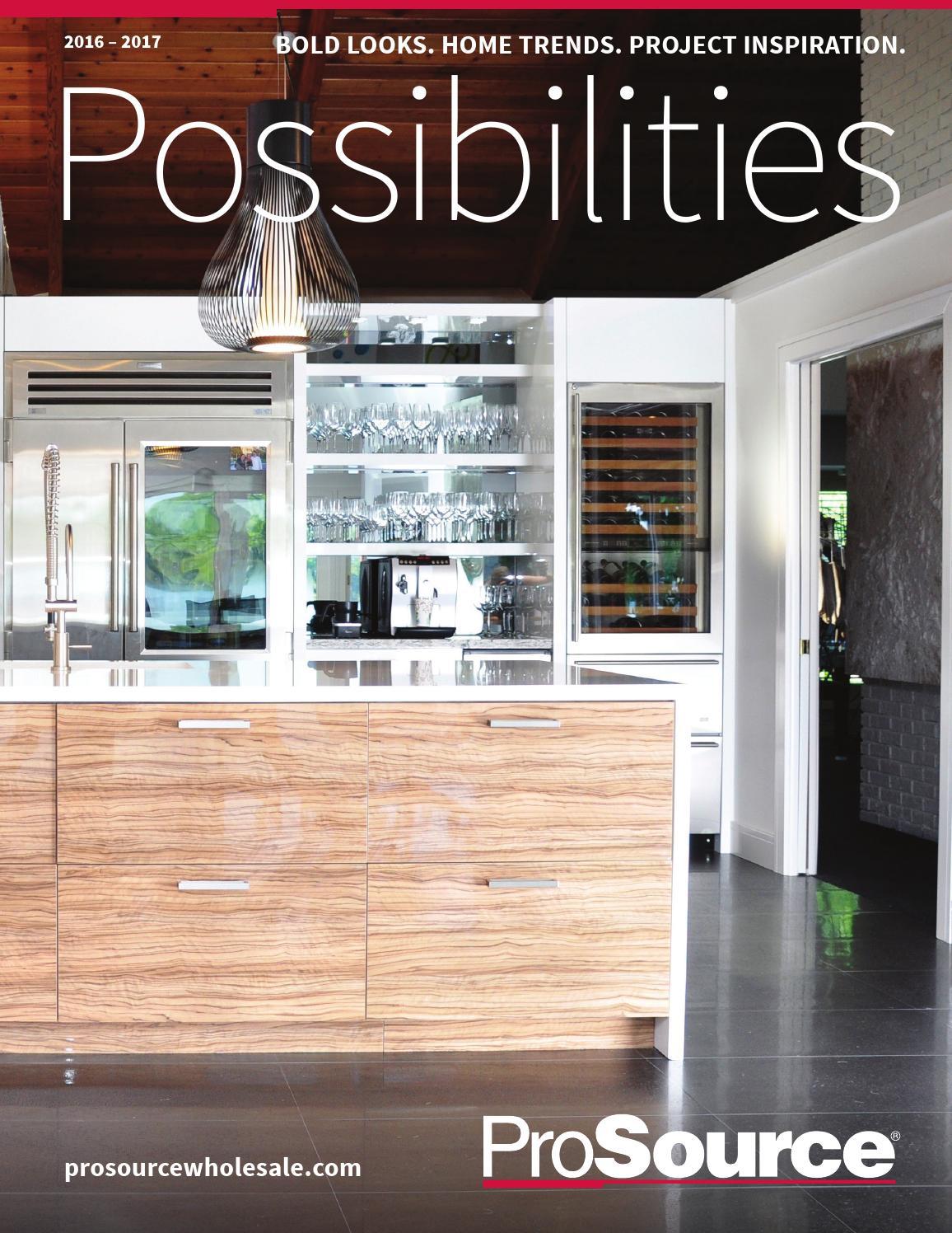 2016 2017 Home Improvement Prosource Wholesale Catalog