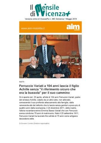 e70eb6dbfc Versione online di VicenzaPiù n. 286: Domenica 1 Maggio 2016