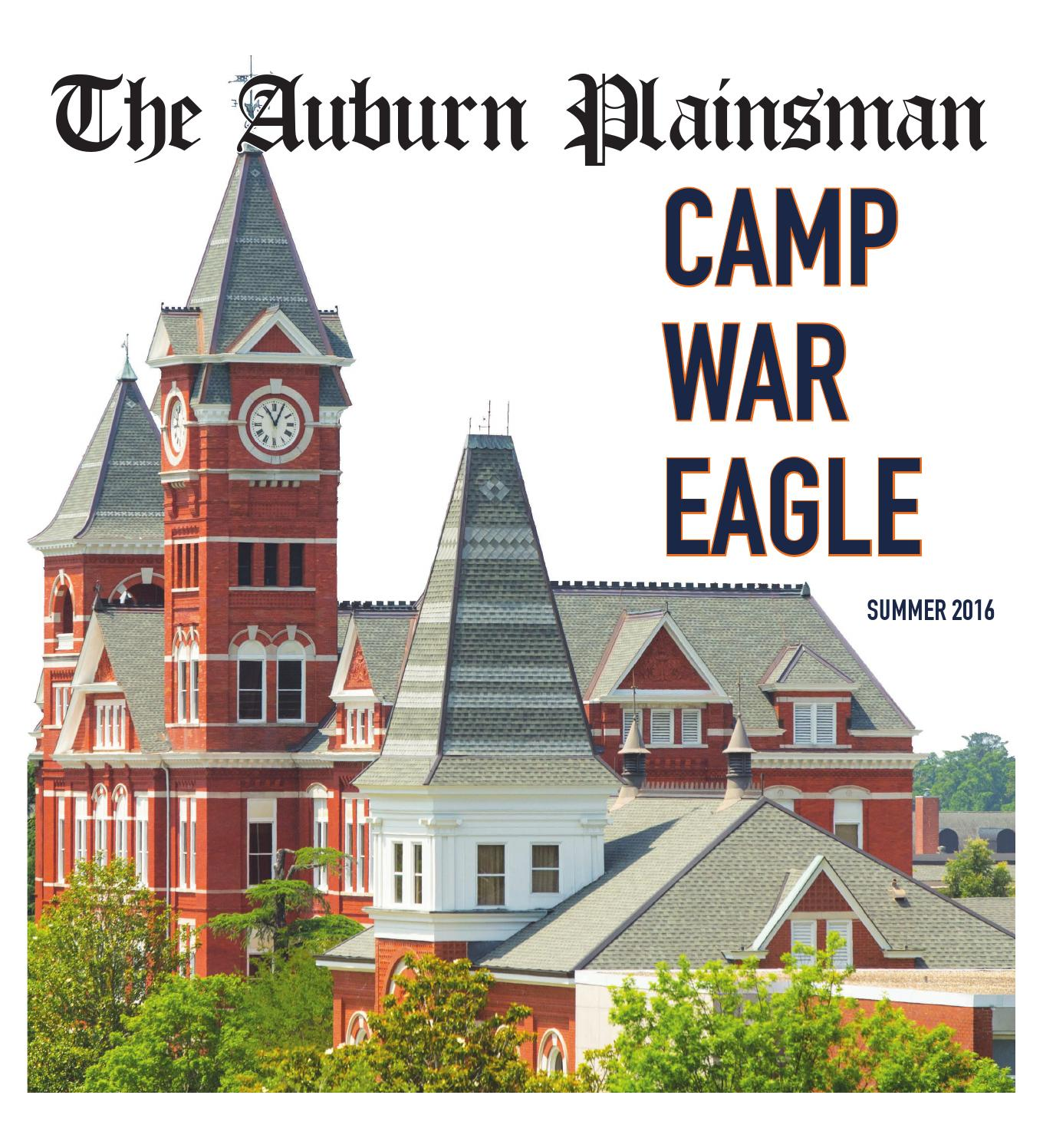 The Auburn Plainsman Camp War Eagle special edition 5 26 16 by The