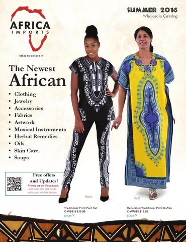 3db4ed4e7f 2016 Summer Wholesale Catalog by Africa Imports - issuu