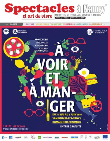official photos 16a30 a6acf Spectacles Publications Nancy n°327   Juin 2016 by SPECTACLES ...
