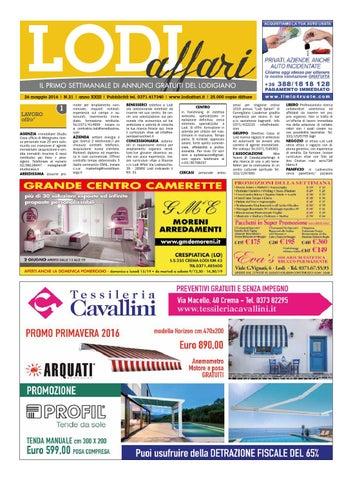 reputable site c65ea c7535 Lodi Affari 26 Maggio by Lodi Affari - issuu