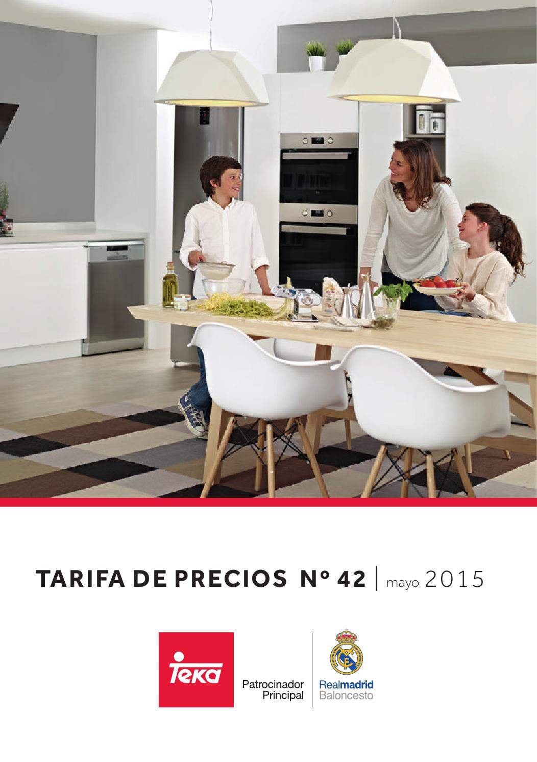Cat logo tarifa teka 2015 ed 42 by servidaya issuu - Catalogo de teka ...