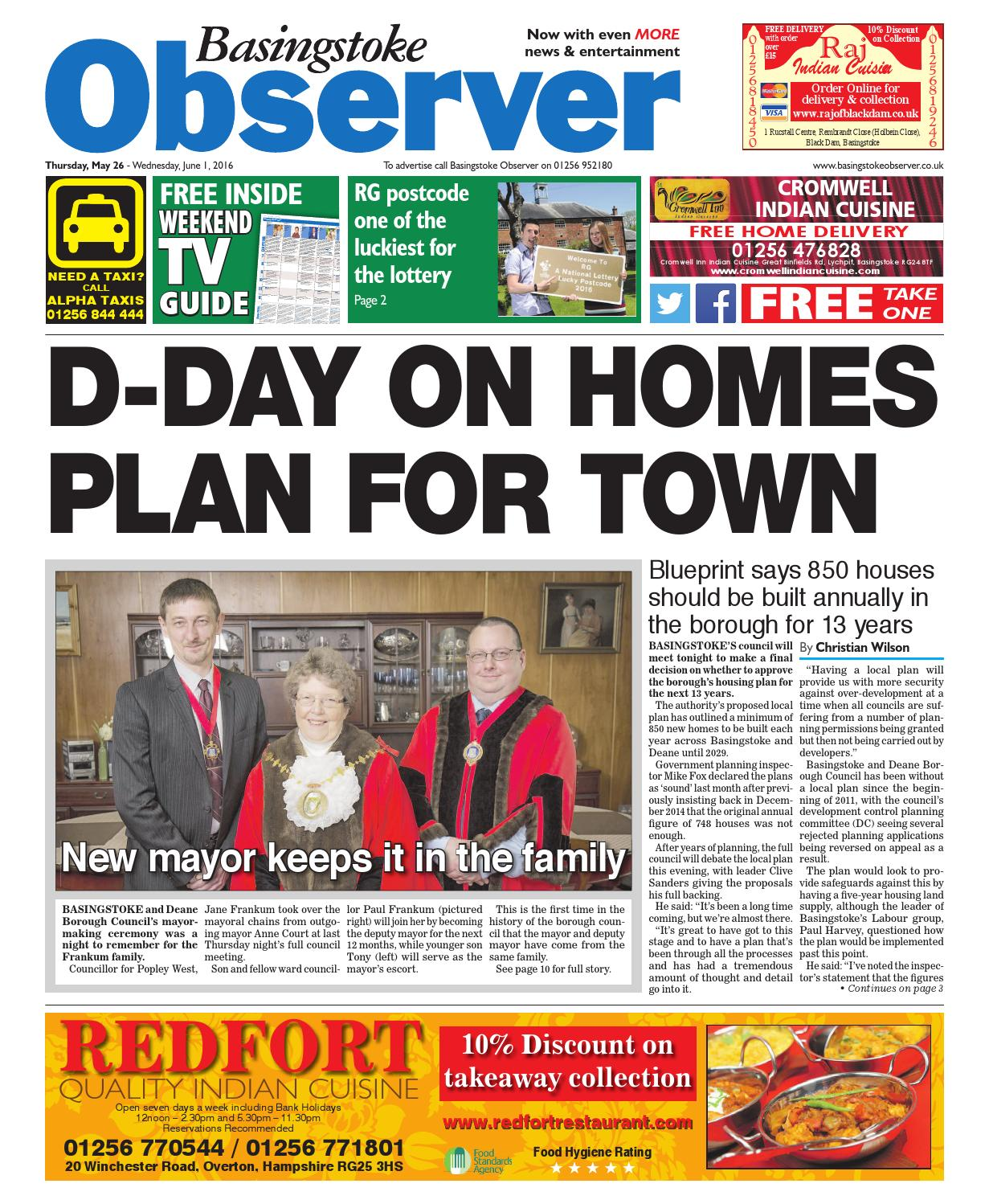 26 may 2016 basingstoke observer by Taylor Newspapers - issuu