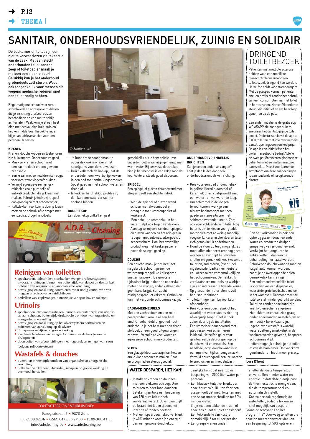 Kalk In De Wc Pot.Horeca Krant N 77 Juni 2016 By Elma Multimedia Issuu