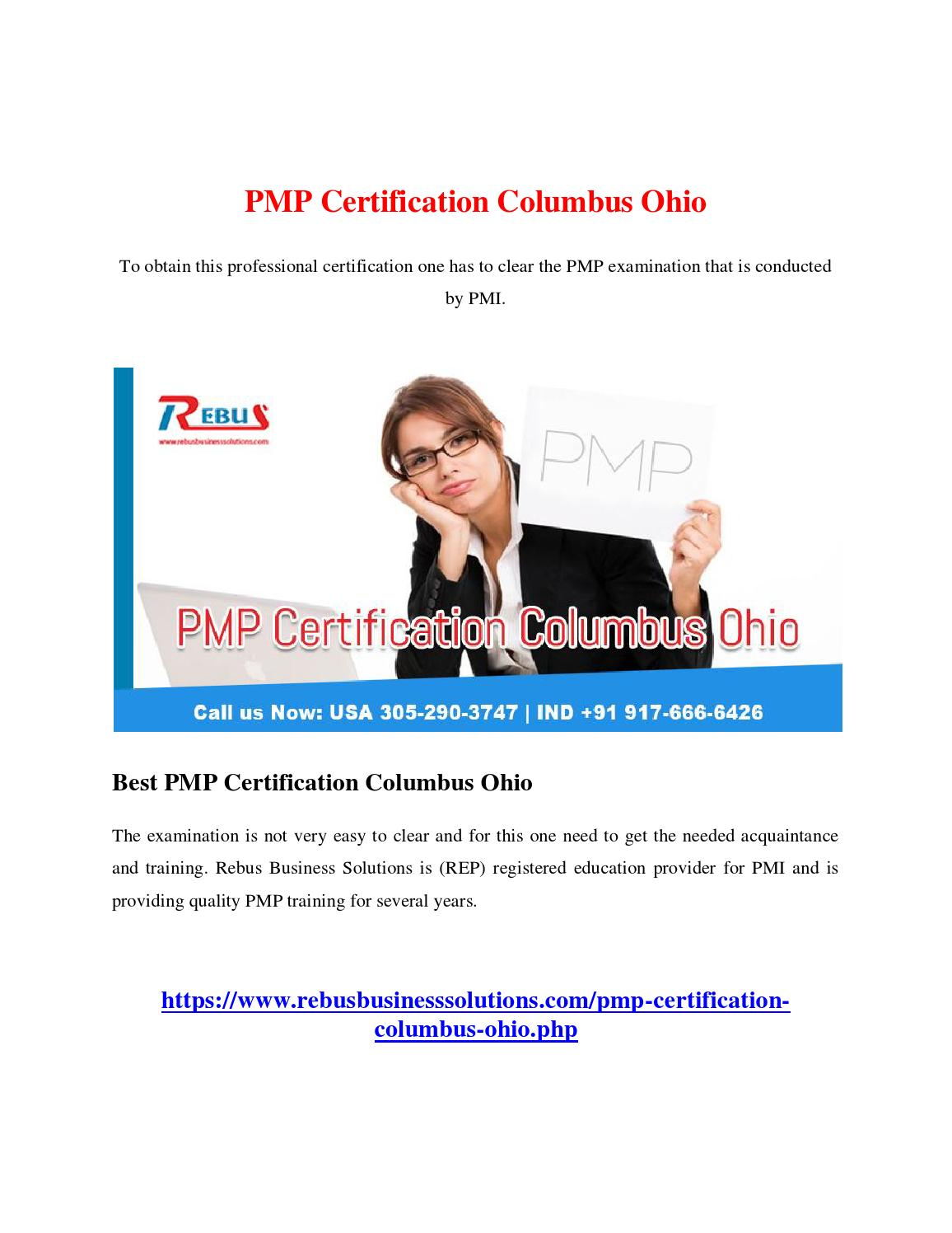 Pmp certification columbus ohio by chinnacs issuu 1betcityfo Choice Image