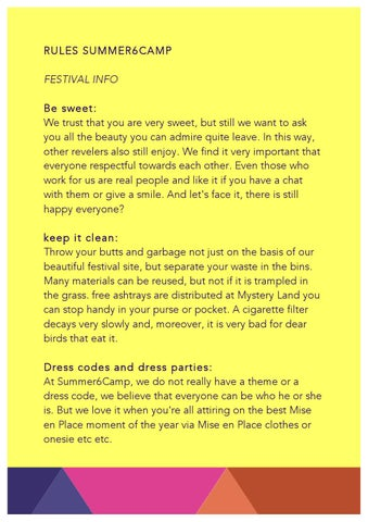 Rules Summer6Camp by Mise en Place - issuu