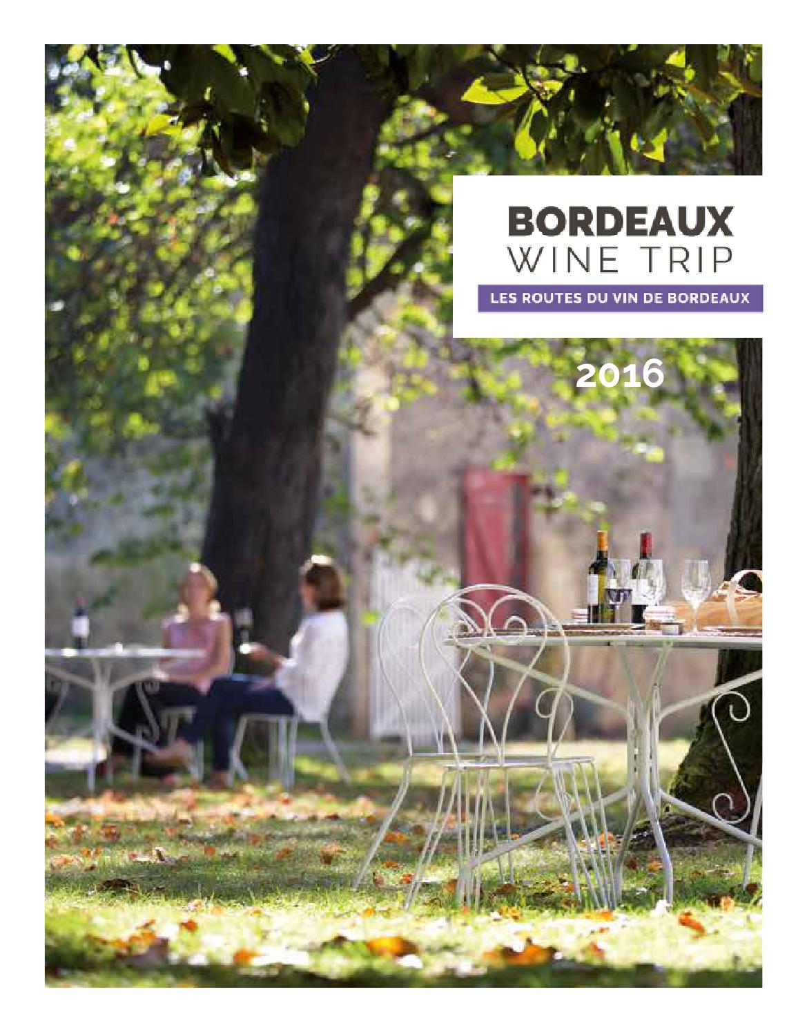 Bordeaux wine trip by office de tourisme de bordeaux m tropole issuu - Office du tourisme de bordeaux ...