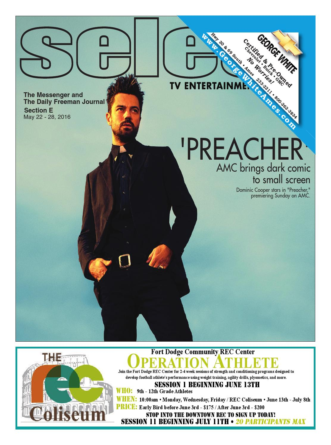 Select TV 5.22.16 by Newspaper - issuu