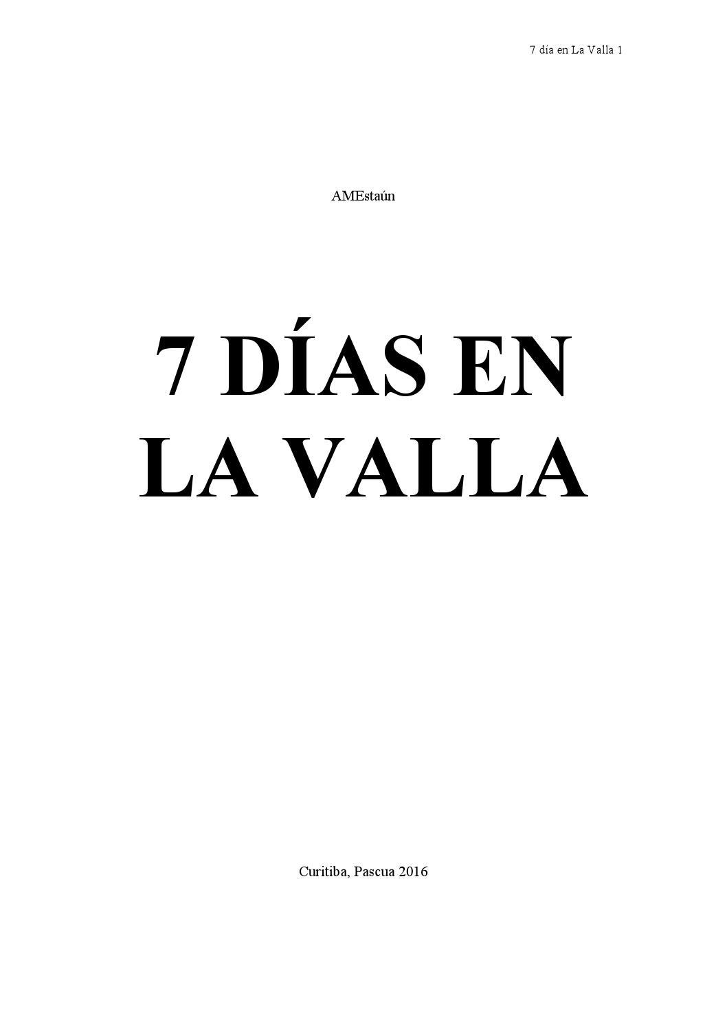 7 días en La Valla by Hermanos maristas - issuu