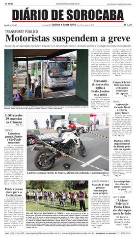 Edição de 26 de maio de 2016 by DIÁRIO DE SOROCABA - issuu b37b6276f70dd