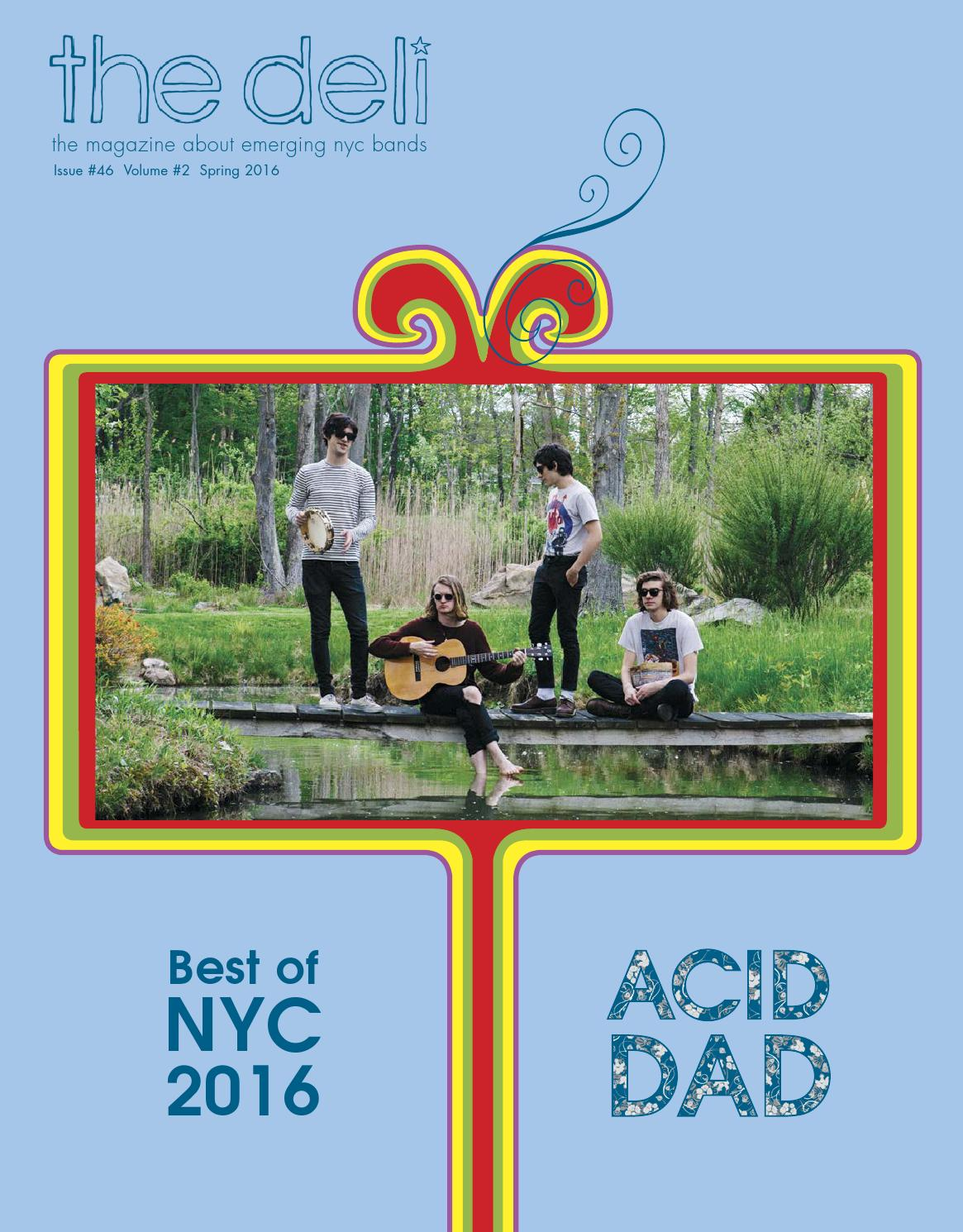 The Deli Nyc 46 Best Of Nyc 2016 Acid Dad Donna Missal