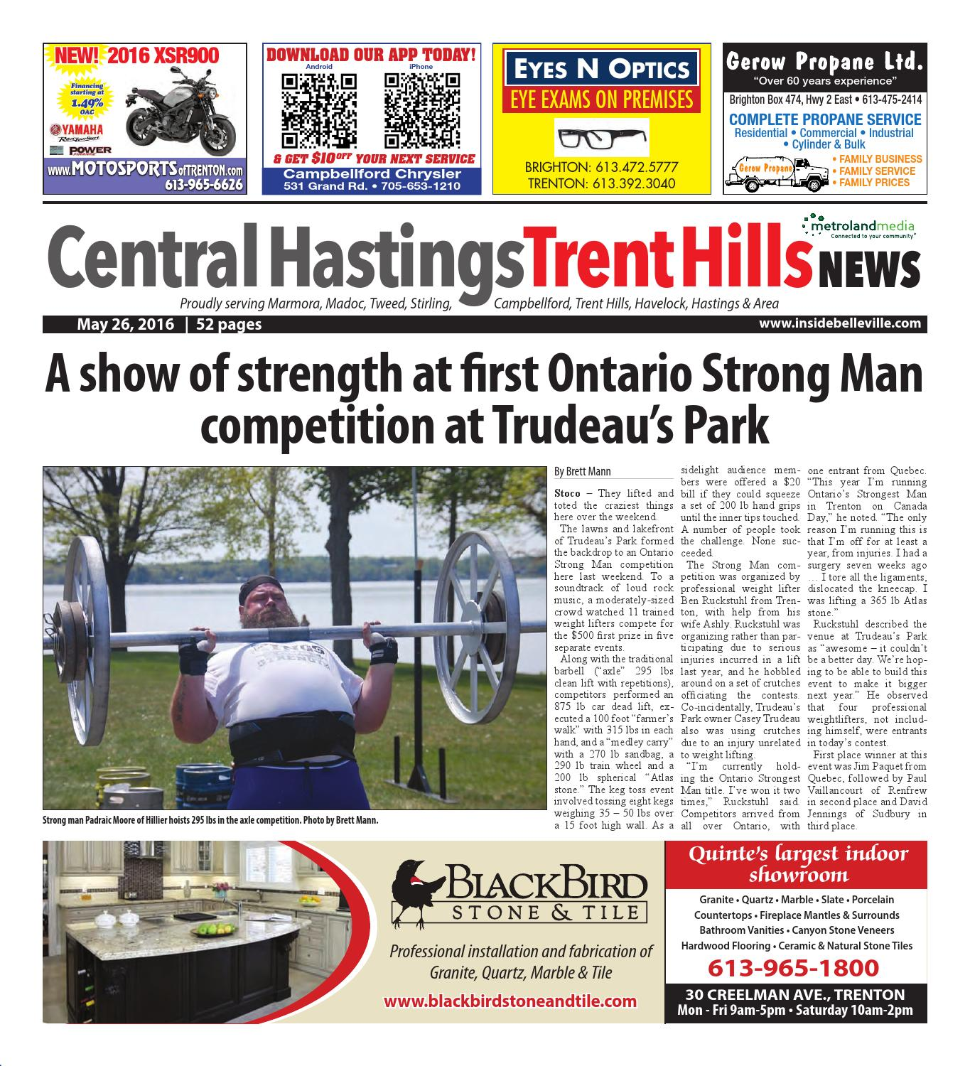 Chth052616 By Metroland East Trent Hills Independent Issuu