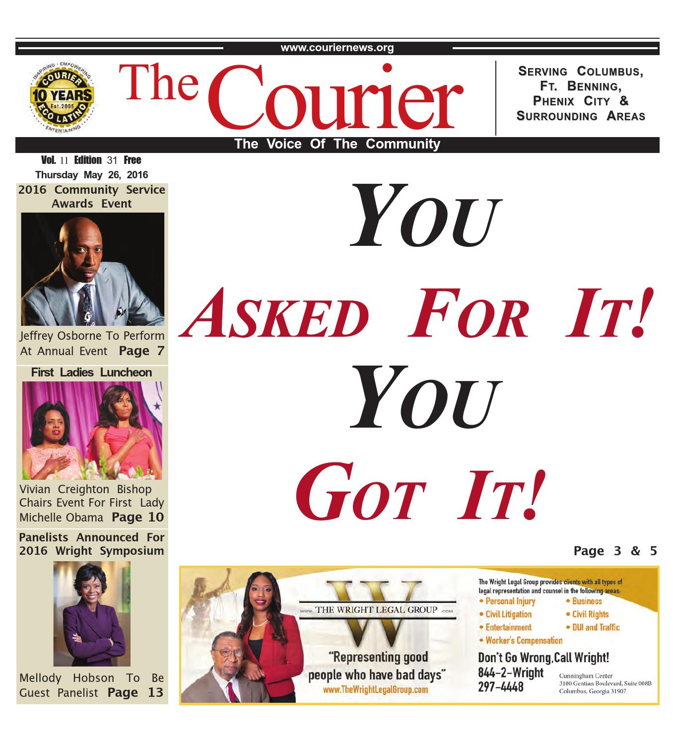 The courier may 26,2016 by Webbasedpublications - issuu