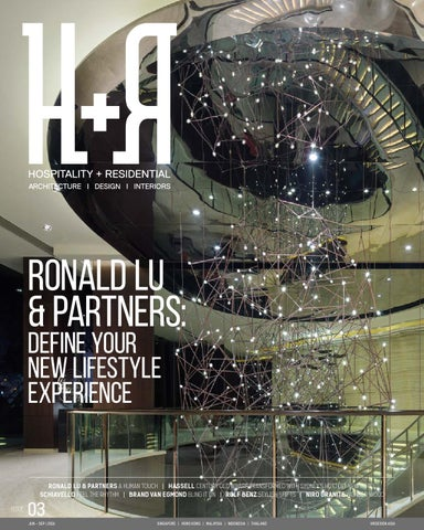 RONALD LU PARTNERS DEFINE YOUR NEW LIFESTYLE EXPERIENCE
