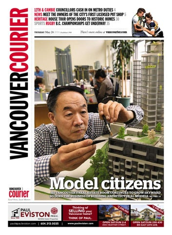 fa88b24c3a Vancouver Courier May 26 2016 by Vancouver Courier - issuu