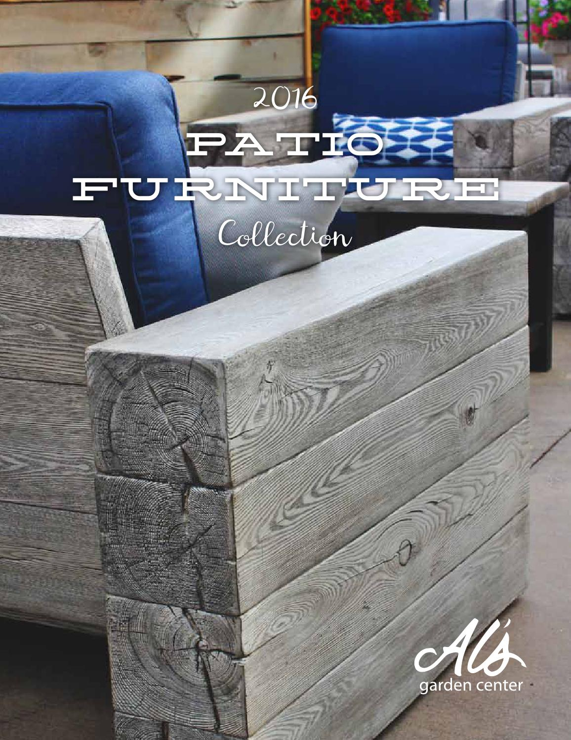 2016 Patio Furniture Collection By Al 39 S Garden Center Issuu