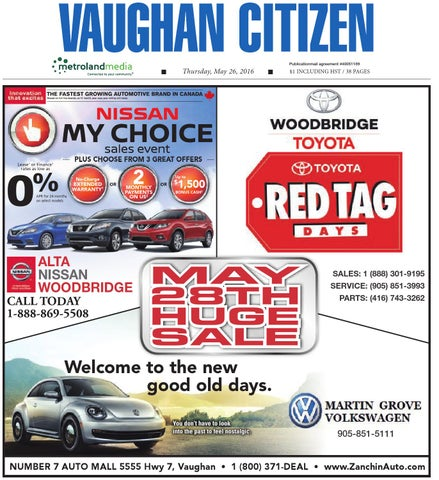 Page 1  sc 1 st  Issuu & Vaughan Citizen May 26 2016 by Vaughan Citizen - issuu