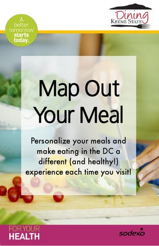 Map Out Your Meal 2016 By Sodexo Keene State College Dining Issuu