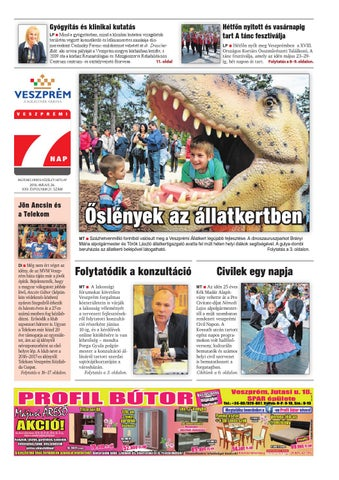 Veszprémi 7 Nap - 2016. 05. 26. by Maraton Lapcsoport Kft. - issuu 9880e4e1a2