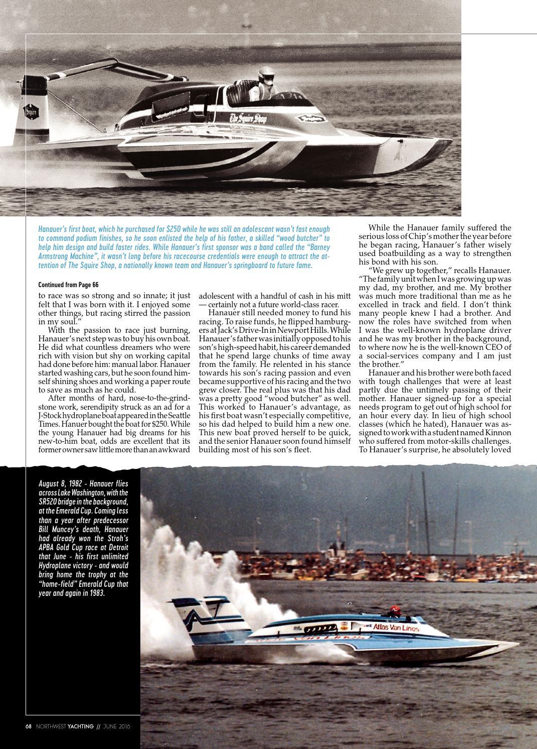 Northwest Yachting - June 2016