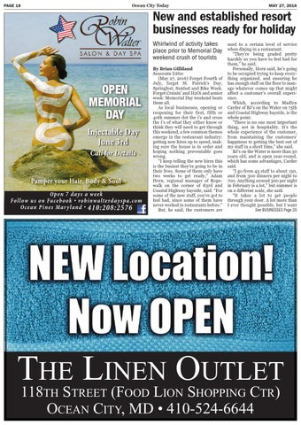 52716 Ocean City Today By Ocean City Today Issuu