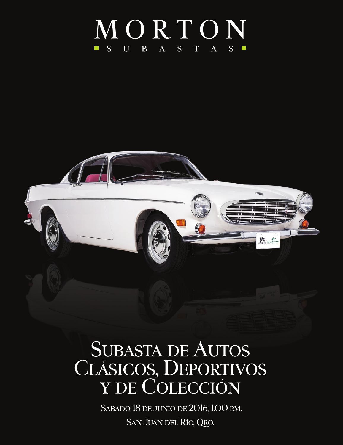 Subasta de Autos Clásicos y Deportivos by Morton Subastas - issuu